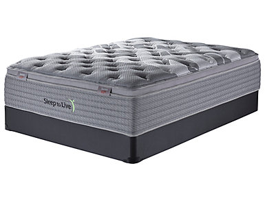 Sleep to Live Series 4.0 Full XL Mattress Set, , large