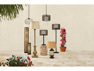 Tanglewood Outdoor Table Lamp, , large