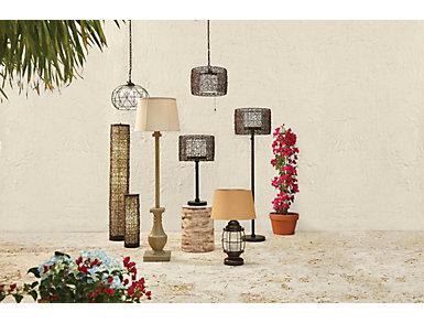 Cavea Outdoor Pendant Light, , large