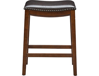 Dexter Counter Stool, Brown, large