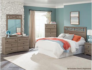 Mulberry 3-piece Queen Bedroom Set, , large