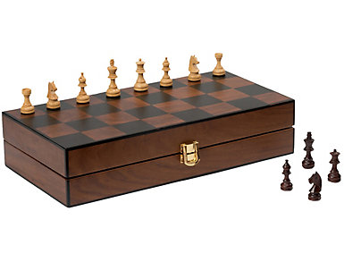 Chess in Shisham Wood Deco Box, , large