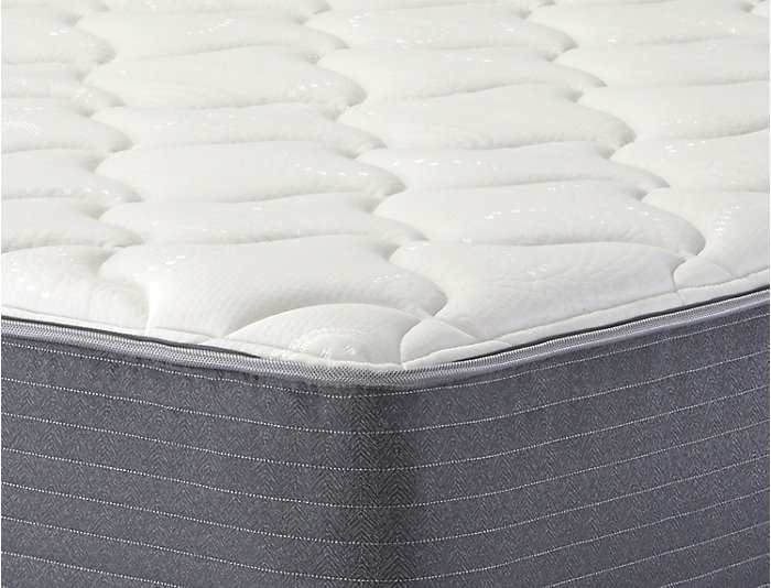 Full XL Low Profile Burbank Mattress Set, , large