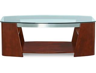Christina Rectangular Coffee Table, Brown, , large