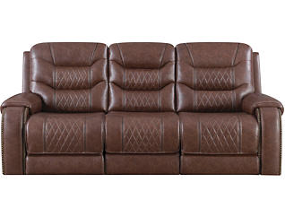 Hubble Dual Power Relining Sofa and Loveseat Set, , large