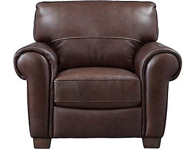 Dario III Leather Chair, , large