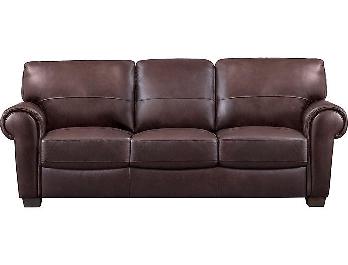 Dario III Leather Sofa | Art Van Home