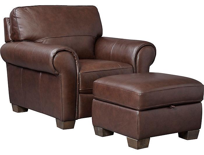 Terrific Dario Iii Brown Leather Storage Ottoman Camellatalisay Diy Chair Ideas Camellatalisaycom