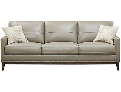 Como Leather Sofa, , large