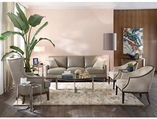 Como Leather Sofa, , large