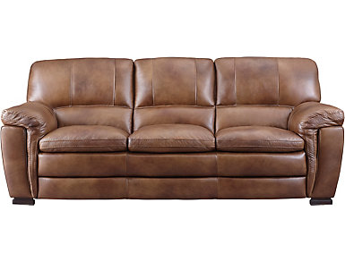 Max Sofa, Brown, large