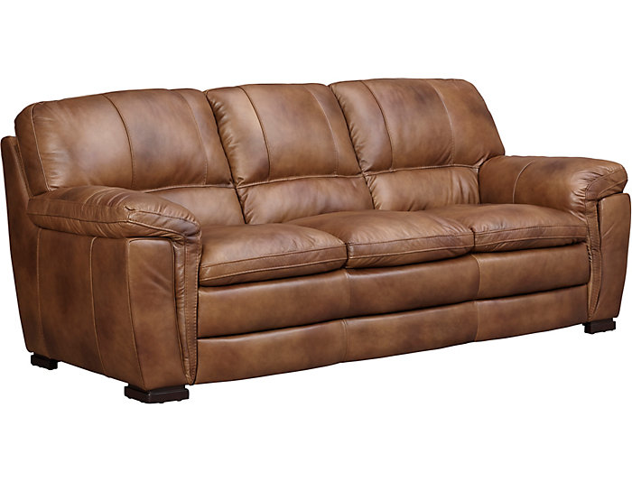 Max Leather Sofa | Art Van Home