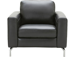 Matera Leather Chair, , large