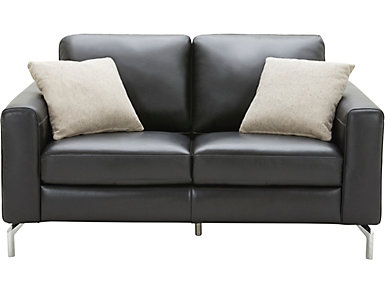 Matera Leather Loveseat, , large