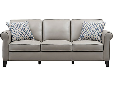 Venice Sofa, Grey, large