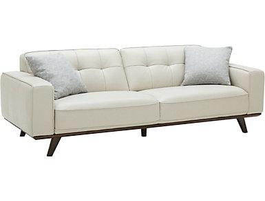 Turin Leather Sofa, , large