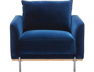 Sorrento Velvet Chair, , large