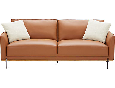 Sorrento Leather Sofa, , large