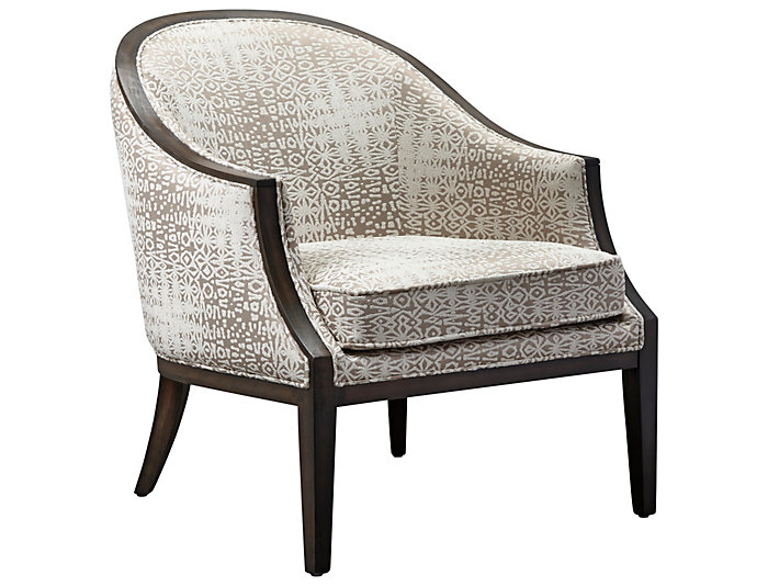 ROMA Como Accent Chair, Taupe, , large