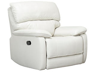Sloan Leather Recliner, Taupe, , large