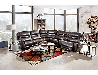 Mason 6 Piece Sectional With Dual Power, , large