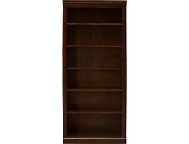 """72"""" Kane Brown Bookcase, Brown, large"""