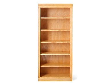 "72"" Light Oak Bookcase, , large"