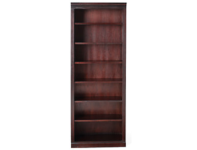 "84"" Dark Cherry Bookcase, , large"