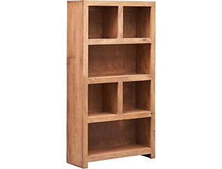 "60"" Display Bookcase, Grey, large"