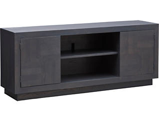 """Lena 64"""" Washed Charcoal TV Stand, , large"""