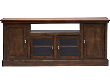 """Navarro 74"""" Cafe Brown TV Stand, , large"""