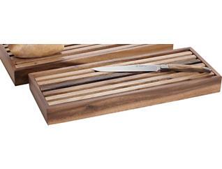 Olivewood Carving Knife/Board, , large