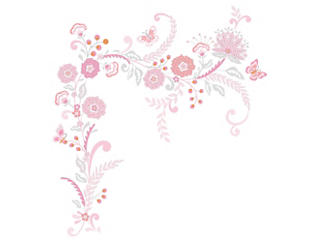 Charlotte Wall Applique, , large