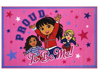 """Dora Proud To Be Me Rug 39X58"""", , large"""