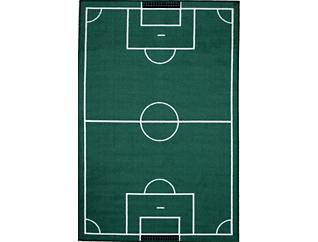 """Funtime Soccer Rug 39""""X58"""", , large"""