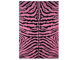 "Zebra Skin-Pink Rug 51""X78"", , large"
