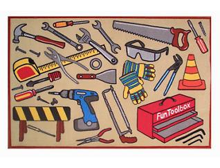 """Fun Toolbox Rug 51""""X78"""", , large"""