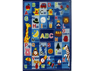 """Letters & Names Rug39""""X58"""", , large"""