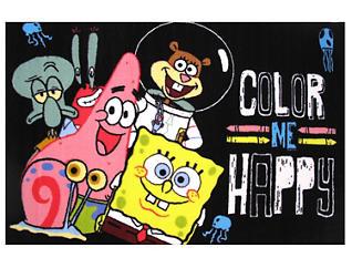 "SpongeBob Happy Rug 39""X58"", , large"