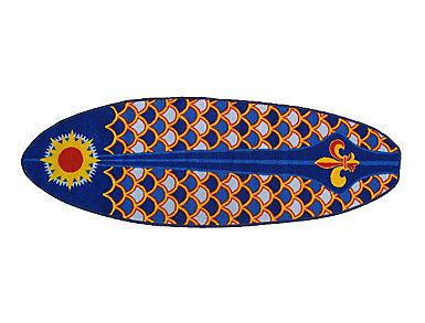 "Laguna Surf Rug 19""X58"", , large"