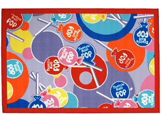 "Tootsie Roll Pop Rug 39""X58"", , large"