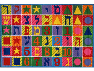 Hebrew Numbers & Letters8'X11', , large