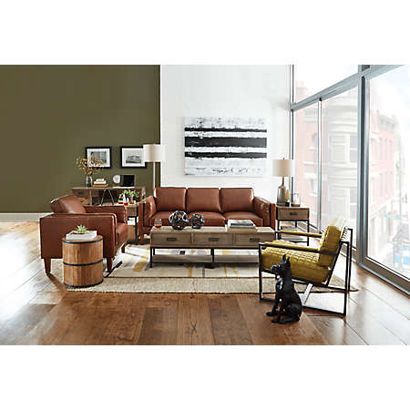 Berkley Collection Leather Furniture Sets Living Rooms Art Sofa