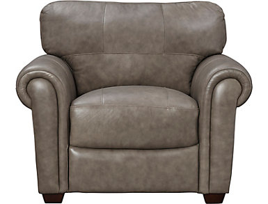 Branson Leather Chair, , large