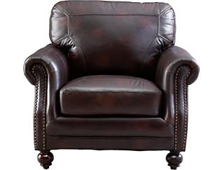 Hayward Leather Chair, , large