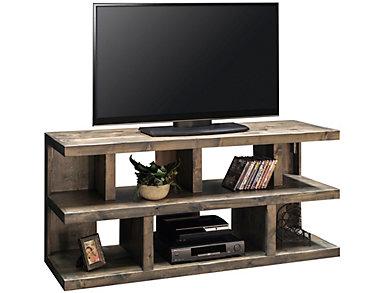 """Sausalito 64"""" Charcoal TV Stand, , large"""
