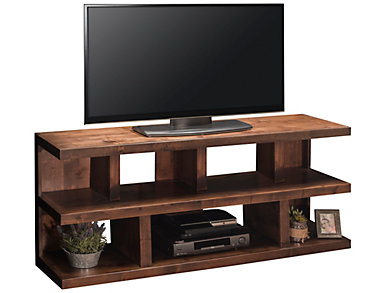 sausalito 64 console - Entertainment Centers With Bookshelves