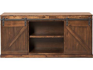 "Hacienda 62"" Console , Rustic Walnut, , large"