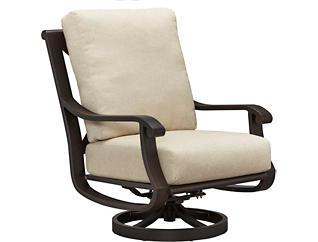 Grand Isle Swivel Lounge Chair, Metal, , large