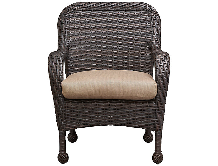 Surprising San Jose Iii Outdoor Dining Chair Art Van Home Pabps2019 Chair Design Images Pabps2019Com